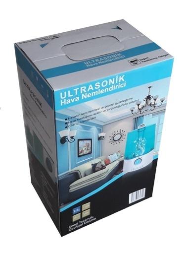 Havvaca Havvaca Ultrasonik Soguk Buhar Makinası Hd -1349 şeffaf Model Renkli